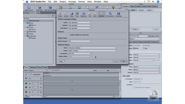 Improved DVD previewing: DVD Studio Pro 4 + Compressor 2 New Features
