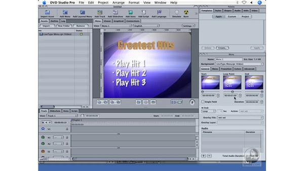Integration with other applications: DVD Studio Pro 4 + Compressor 2 New Features