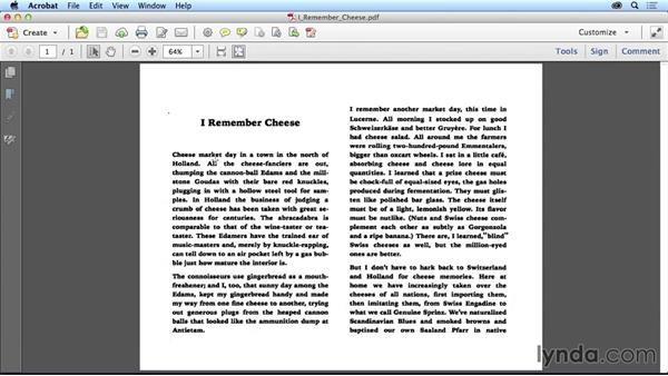 Scanning text: Adapting a Print Layout for Digital Publishing