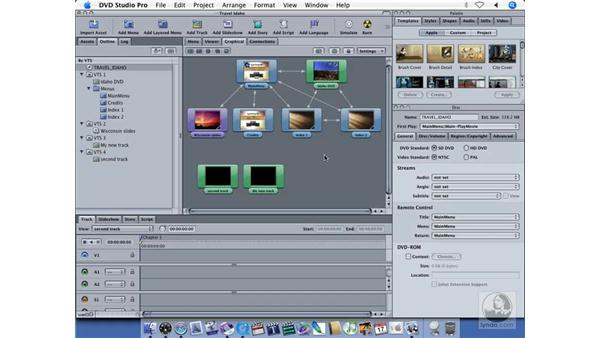 VTS editing: DVD Studio Pro 4 + Compressor 2 New Features