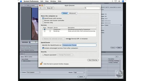 Distributed encoding: DVD Studio Pro 4 + Compressor 2 New Features