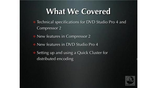 Goodbye: DVD Studio Pro 4 + Compressor 2 New Features