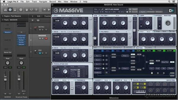 Beyond the basics with modular-component synthesis in Native Instruments MASSIVE: Synth Programming: Beyond the Basics
