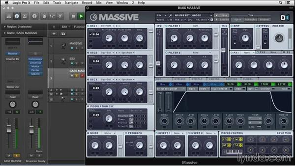 Programming wobble bass with pulse width: Synth Programming: Beyond the Basics