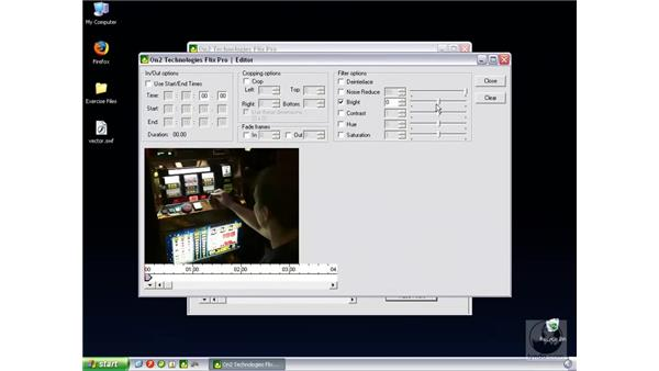 Encoding using On2 Flix Pro: Flash Professional 8 Video Integration