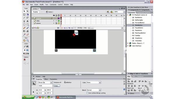Creating a custom video interface: Flash Professional 8 Video Integration