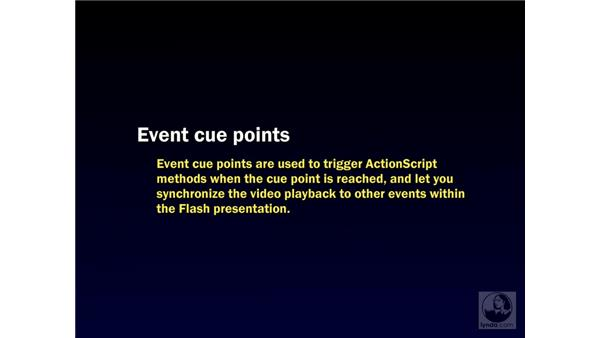Cue point basics: Flash Professional 8 Video Integration