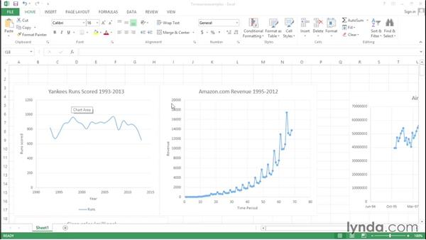 What is time-series data?: Excel Data Analysis: Forecasting