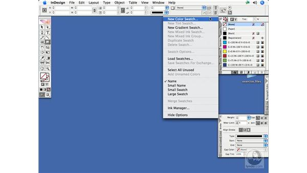 Creating an application default Rich Black swatch: InDesign CS2 Print Project Workflow