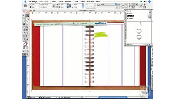 Creating and applying master pages: InDesign CS2 Print Project Workflow