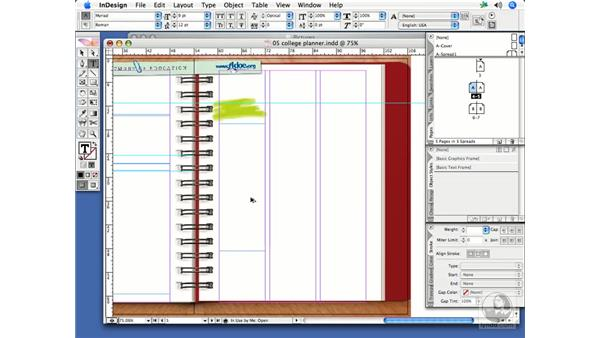 Adding text frames to pages (including threading): InDesign CS2 Print Project Workflow