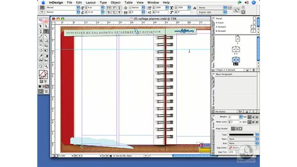 Setting document default styles: InDesign CS2 Print Project Workflow