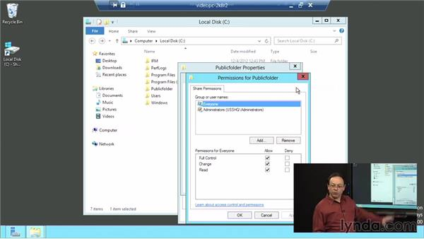 File sharing in Windows Server 2012: Windows Server 2012 Active Directory: File System and Storage