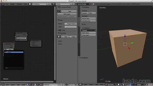 Cube, Cylinder, and Sphere Projection: Blender UV Mapping
