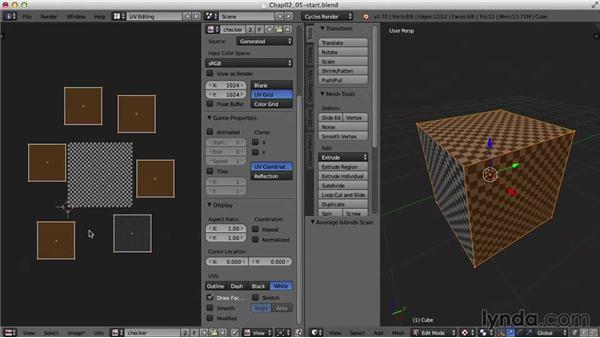 Average Island Scale and Pack Islands: Blender UV Mapping