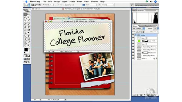 Utilizing smart objects: InDesign CS2 Print Project Workflow