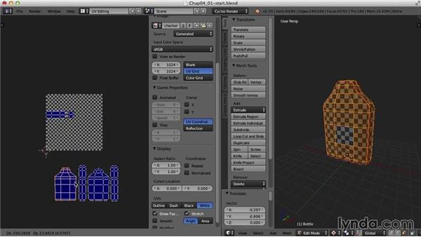 UV mapping multiple objects: Blender UV Mapping