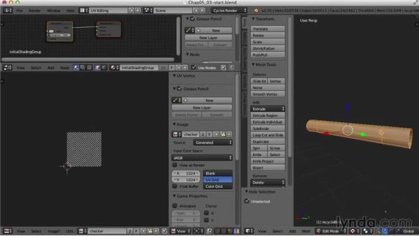 The recycle bins: Blender UV Mapping