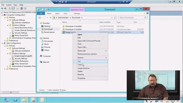 Configuring user desktops via Group Policy objects: Windows Server 2012 Group Policy