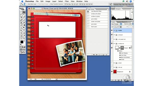 Utilizing layer comps: InDesign CS2 Print Project Workflow