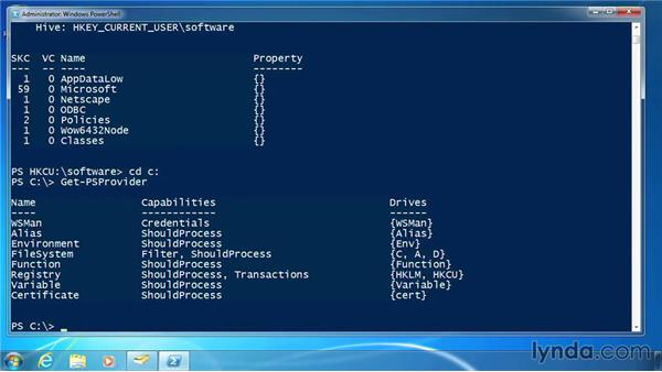 Use PSDrives: PowerShell 3.0 for Administrators