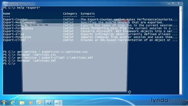 Import and export: XML: PowerShell 3.0 for Administrators