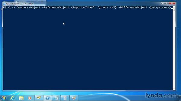 Use Compare-Object for change control: PowerShell 3.0 for Administrators