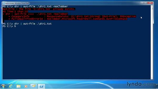 Output to a file or printer: PowerShell 3.0 for Administrators