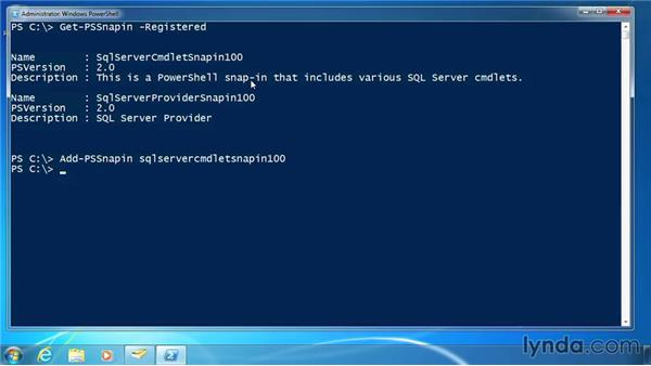 Find and add PSSnapins: PowerShell 3.0 for Administrators