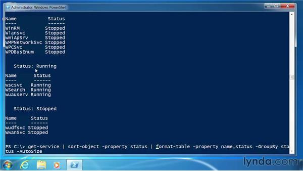 Format tables: PowerShell 3.0 for Administrators