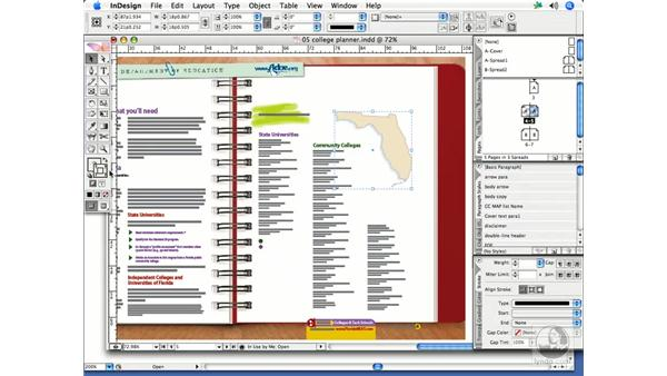Editing Illustrator paths in InDesign: InDesign CS2 Print Project Workflow