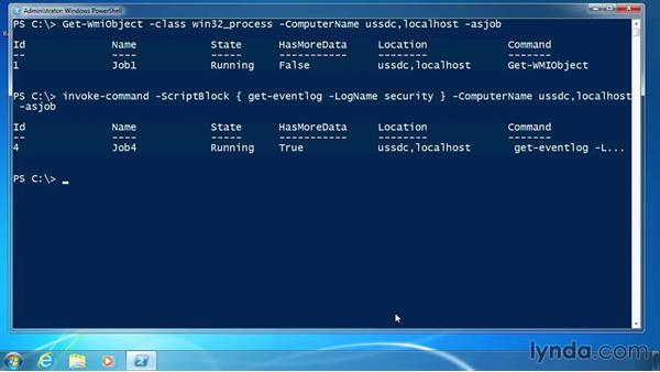 Start a job: PowerShell 3.0 for Administrators