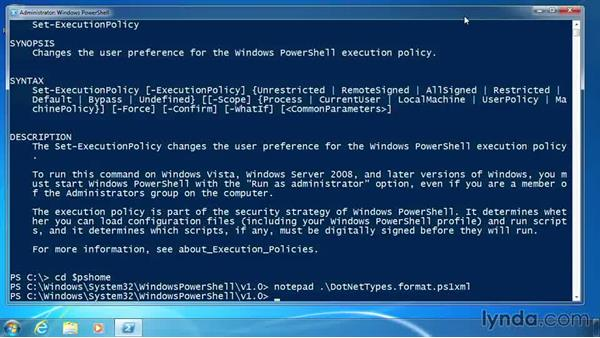 Configure the execution policy: PowerShell 3.0 for Administrators