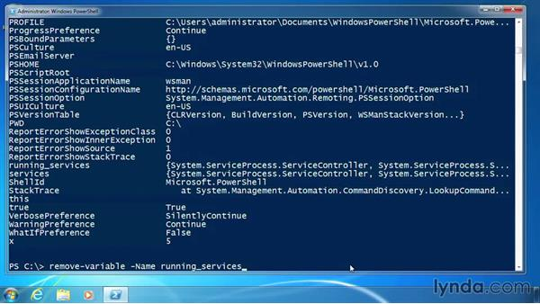 Name variables: PowerShell 3.0 for Administrators