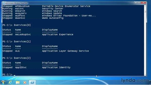 Use arrays: PowerShell 3.0 for Administrators