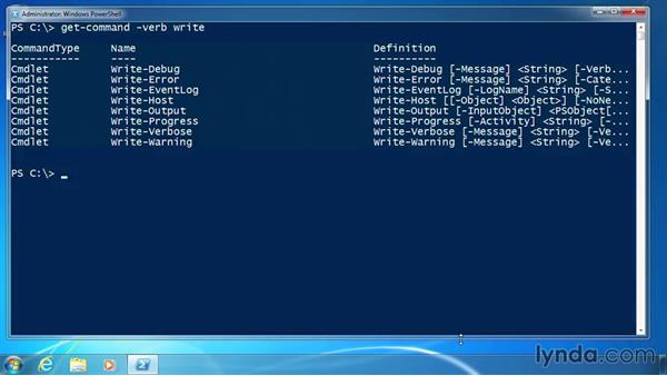 Write other messages: PowerShell 3.0 for Administrators