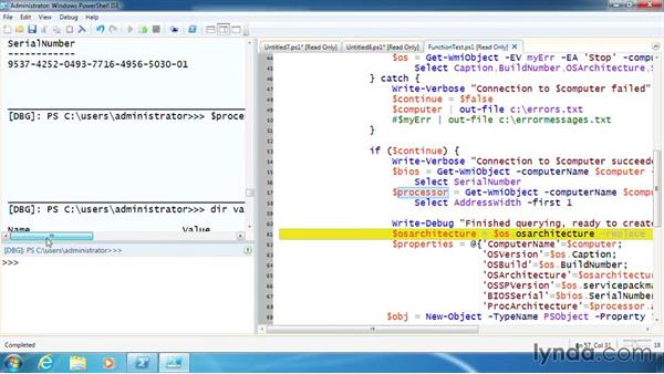 Debug with PSBreakpoints: PowerShell 3.0 Scripting and Tool Making