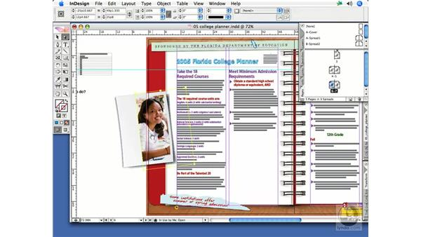 Importing graphics: InDesign CS2 Print Project Workflow