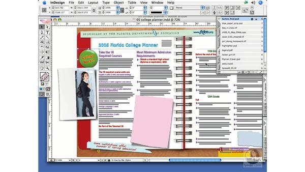 Updating and relinking: InDesign CS2 Print Project Workflow