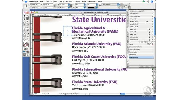 Anchored objects: InDesign CS2 Print Project Workflow