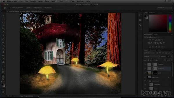 Introduction to the project: Bert Monroy: Dreamscapes - Mushroom House