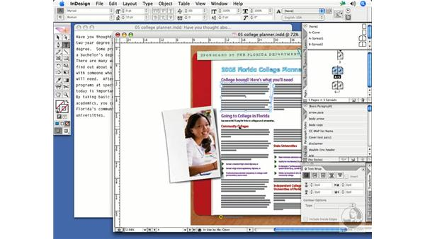 Using the Story Editor: InDesign CS2 Print Project Workflow