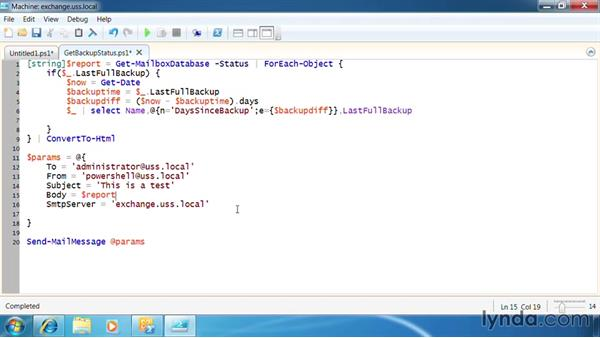 Send SMTP messages: PowerShell 2.0 for Exchange Server