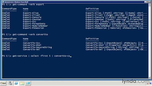 Learn about Export vs. ConvertTo: PowerShell DrillBits
