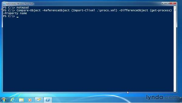 Use parenthetical commands: PowerShell DrillBits