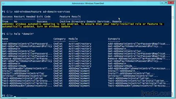 Use the new Dcpromo technique: PowerShell DrillBits