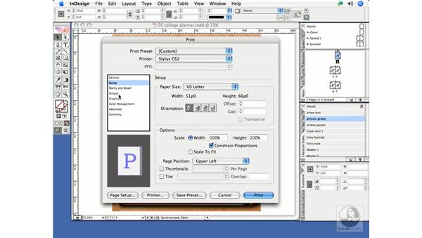 Printing and print presets: InDesign CS2 Print Project Workflow