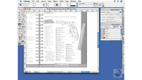 Flattener/Separations preview: InDesign CS2 Print Project Workflow