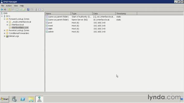 Configure DNS: Lync 2010: Deploying, Configuring, and Administering