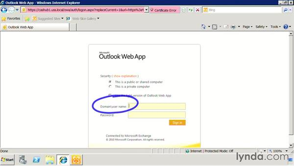 Discover Outlook Web App (OWA): Exchange Server 2010: Designing and Implementing